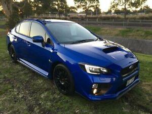 2014 Subaru WRX MY15 Premium (AWD) Blue 6 Speed Manual Sedan Mayfield East Newcastle Area Preview