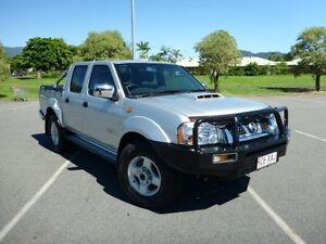 2012 Nissan Navara D22 S5 ST-R Silver 5 Speed Manual Utility Westcourt Cairns City Preview