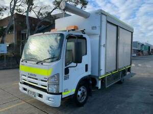 02/09 ISUZU NPR400 4X2 PANTECH Milperra Bankstown Area Preview