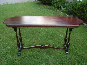 REDUCED PRICE -RARE JEWEL-ANTIQUE SIDEBOARD BUFFET TABLE-$284.99