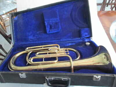 Yamaha Alto Horn Yah-202 From Japan Used #916 Brass Alto Horns