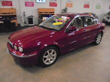2002 Jaguar X-Type X400 Burgundy 5 Speed Manual Sedan Wangara Wanneroo Area Preview