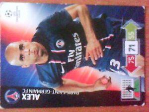 ALEX 2012 2013 Panini Adrenalyn XL Paris Saint Germain - PL, Polska - ALEX 2012 2013 Panini Adrenalyn XL Paris Saint Germain - PL, Polska