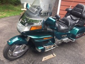 1996 Honda Goldwing mint condition one owner.