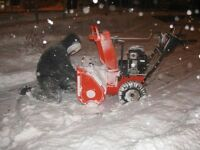 Snowblower ot starting, need tune up,call!