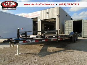 20' PJ BUGGY HAULER - QUALITY TRAILER FOR AN AMAZING PRICE!