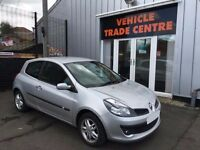57 RENAULT CLIO 1.4 DYNAMIQUE 3DR SILVER MOT MAY 2017