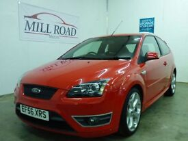 FORD FOCUS 2.5 ST-2 3d 225 BHP LOW MILEAGE & 9 SERVICES T (red) 2006