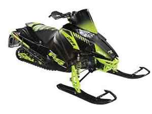 2017 ARCTIC CAT ZR 6000 RS SIGNATURE SLED, FREE TRAIL PASS!