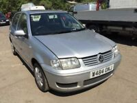 Volkswagen Polo automatic, starts and drives, car located in Gravesend Kent, trade sale due to no MO