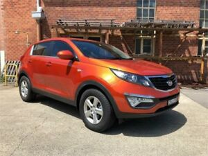 2014 Kia Sportage SL Series II MY13 SI Orange Sports Automatic Wagon