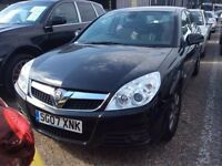 2007 VAUXHALL VECTRA 1.9 CDTI 120 DESIGN DIESEL MANUAL BLACK STARTS AND DRIVES NOT PASSAT MONDEO
