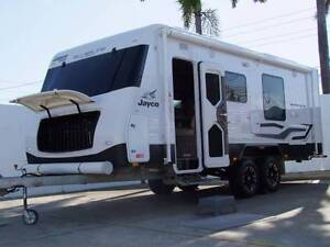 JAYCO SILVERLINE 'OUTBACK' SLIDE OUT LUXURY ENSUITE CARAVAN 2014 Clontarf Redcliffe Area Preview