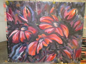 Large Floral (40heightx48 width)