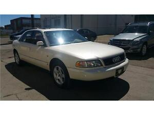 1997 Audi A8 quattro, 1owner, BC, 65 kms, AWD,3.7 V8 !!!