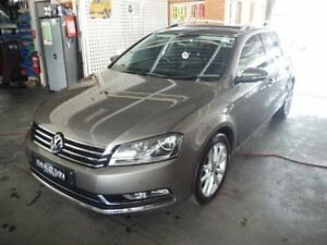 2011 Volkswagen Passat 3C MY10 Upgrade 125 TDI Highline Brown 6 Speed Direct Shift Wagon East Lismore Lismore Area Preview