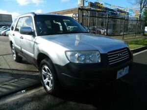 2007 Subaru Forester MY08 X Silver 4 Speed Auto Elec Sportshift Wagon Williamstown North Hobsons Bay Area Preview