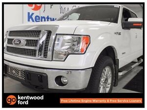 2012 Ford F-150 Lariat 3.5L V6, power heated leather seats, back