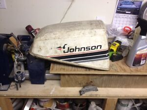 Johnson Outboard Engine Cover
