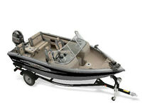 2014 Princecraft Sport 167 WS with 115hp Mercury 4 Stroke and Tr