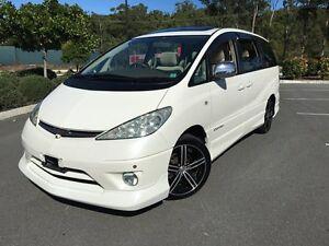 2004 Toyota Estima /Tarago Aeras T White 4 Speed Automatic Wagon Arundel Gold Coast City Preview