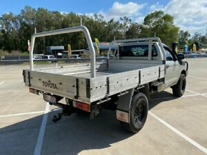 2005 Toyota Hilux KUN26R SR (4x4) Silver 4 Speed Automatic Cab Chassis Morayfield Caboolture Area Preview