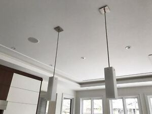 White Glass Pendant Lights