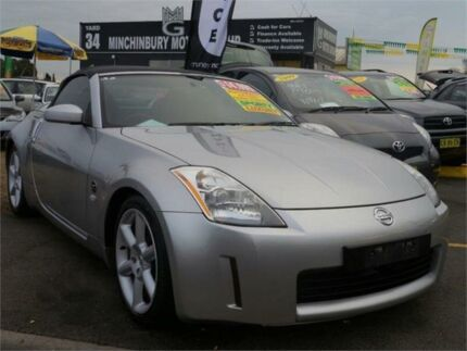 2003 Nissan 350Z Z33 Touring Silver 5 Speed Sports Automatic Coupe