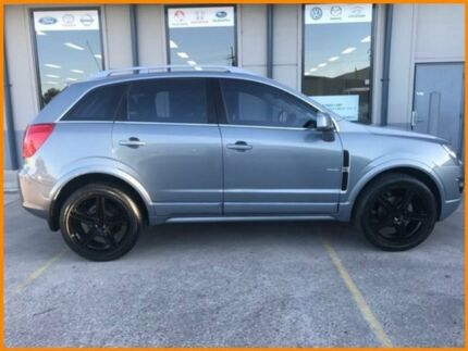 2012 Holden Captiva CG Series II 5 (FWD) Silver 6 Speed Automatic Wagon