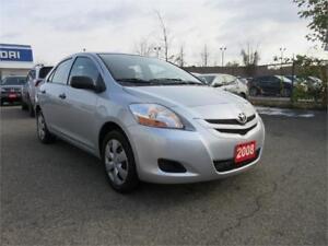 2008 Toyota Yaris-MANUAL,1 OWNER,CERTIFIED,WINTER TIRE SET,$4595