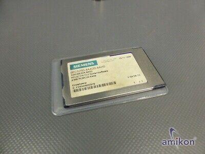 Siemens Sinumerik Systemsoftware 6fc5250-4ax20-4ah0 Version 04.04.10
