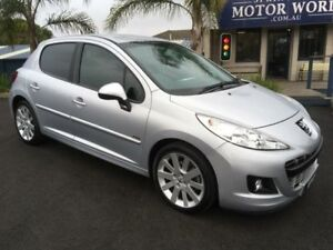 2012 Peugeot 207 MY10 Sportium Silver 4 Speed Automatic Hatchback