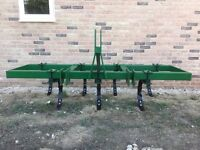 Tractor C tine cultivator, Cousins