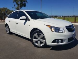 2014 Holden Cruze JH MY14 Equipe Heron White 6 Speed Automatic Sedan Beckenham Gosnells Area Preview