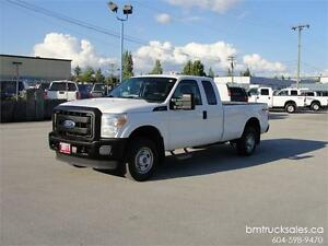 2011 FORD F-250 SUPER DUTY XL EXT CAB LONG BOX 4X4