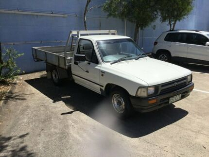 1994 Toyota Hilux RN85R White 5 Speed Manual Cab Chassis Maroochydore Maroochydore Area Preview