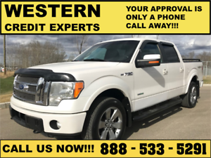 2011 Ford F-150 FX4 Lariat 4x4 ~ EcoBoost ~ $0 Down EZ Financing