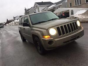 jeep patriot 2008 4x4 cuire leather seats 5144498844