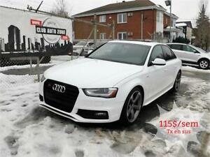 AUDI S4 PROGRESSIV PLUS AWD 2015 (AUTOMATIQUE BLUETOOTH)
