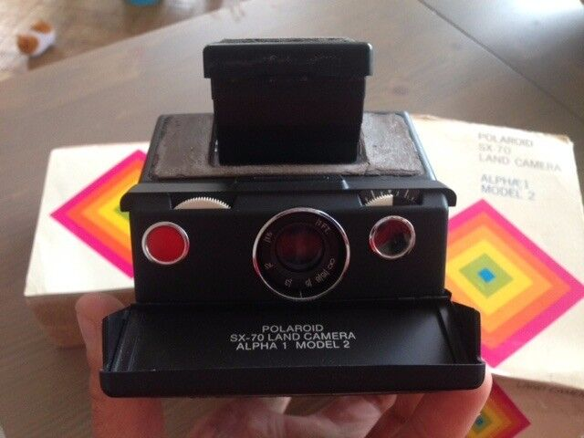 Polaroid Camera Urban Outfitters : Polaroid sx alpha model land camera in vale of