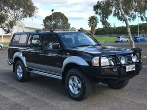 2002 Nissan Navara D22 MY2002 ST-R Black 5 Speed Manual Utility Gepps Cross Port Adelaide Area Preview