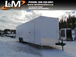 NEW 2019 CARGO EXPRESS 8.5x24' CONTRACTOR TRAILER- 10,000LB GVW