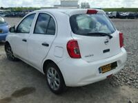 NISSAN MICRA 2016 BREAKING FOR SPARES TEL 07814971951 HAVE FEW IN STOCK