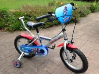 "Apollo Rocketman Boys Bike Bicycle 14"" Inch Wheels"