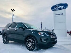2017 Ford Explorer Sport, 4x4, LOADED! 365HP Ecoboost! 46,703km!