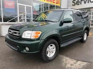 2002 TOYOTA Sequoia LIMITED CUIR+TOIT+8 PLACE
