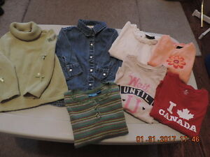 Girl's Size 4T Long Sleeve Tops