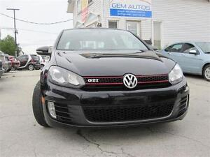 2010 Volkswagen Golf GTI 6 Speed 3 Door Hatch Sunroof