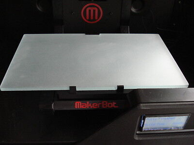 Light Weight Makerbot Replicator 2 Texture Glass Build Plate Upgrade 3d Printer