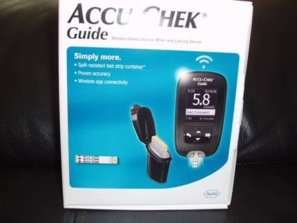 Accu_Chek Guide blood glucose meter Burswood Victoria Park Area Preview